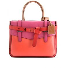 Reed Krakoff Boxer Leather Tote ($1,090) ❤ liked on Polyvore