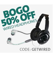 BOGO 50% OFF WIRED HEADPHONES Going Out Of Business, Discover Yourself, Headphones, Entertaining, Headpieces, Ear Phones, Funny