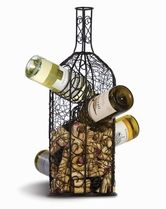The Bouchon Wine Rack & Cork Caddy is the perfect gift for a wine lover!  Get one today at TheWineBag.com!
