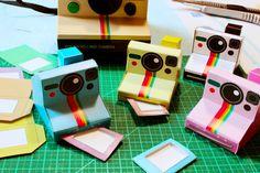 Paper Camera  Pola Paper Camera PDF 4 designs by thelovelyland