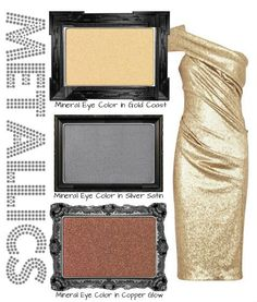 Metallics were the fashion staple at the Country Music Awards this year! Create your own metallic inspired look with Mary Kay eye shadows like Copper Glow, Gold Coast, Silver Satin, and more!  www.marykay.com/patriciag