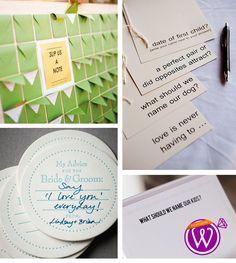Advice Cards - 21 Inspiring inspirations - www.weddzer.com