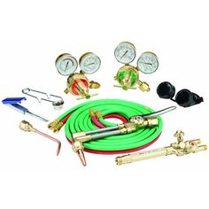 Chicago Electric Welding 92496 Industrial Oxy-Acetylene Welding Outfit