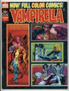 monsters+warren+comics | August 1973) vg/fn Warren Horror Comics monster magazine comic
