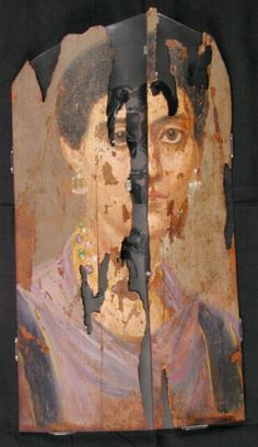 Mummy Portrait UC30088 -The Petrie Museum of Egyptian Archaeology, London.