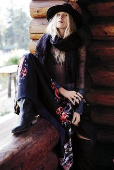 Dree Hemingway para Free People Outubro 2014 [Fashion]