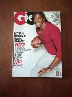 GQ Magazine September 2013 NFL Issue - Robert Griffin III RG3 - Colin Kaepernick