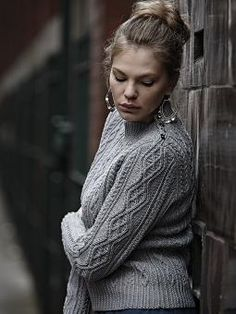 Twisted Cable Sweater from Rowan Designer Knits