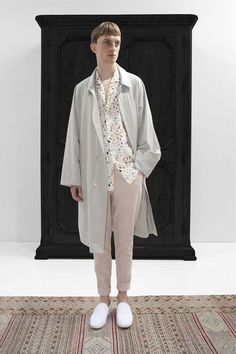 christophe lemaire. spring 2013.  I adore everything about this ensemble.