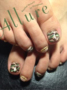 #nail #nails #nailart Totally cute idea to surprise the hubby with on Veterans Day