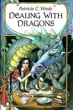 Dealing With Dragons by Patricia C. Wrede | 35 Childhood Books You May Have Forgotten About