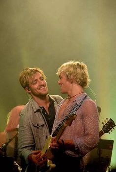 Ross and Rocky