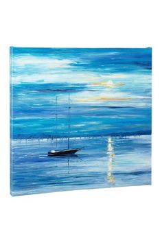 Leonid Afremov Far from Shore - Limited Edition Giclee on Stretched Canvas by Non Specific on @HauteLook
