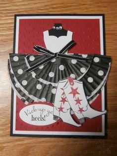 Kick up yer heels Dress Up Framelits Cupcake Dress; Bootiful Occaions