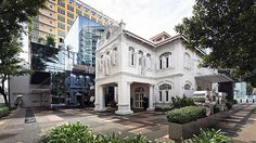 SPACE is one of Singapore's hippest furniture galleries and was created by merging a shop house and a historic villa