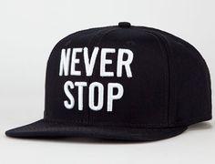 "6fb9c229e6cb US VERSUS THEM ""Never Stop"" Snapback Cap Streetwear Shoes"