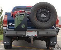 2005 - 2015 Toyota Tacoma Off Road Bolt On Rear Bumper Toyota Tacoma Off Road, 2015 Toyota Tacoma, Alaska Camping, Truck Camping, Camping Gear, Trailer Axles, Rv Trailers, Camping Cooking Table, Toyota 4runner Trd