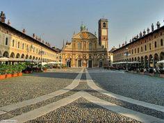 Vigevano Pazza Ducale - Lombardia Italy Italy Trip, Italy Tours, Italy Vacation, Rome Italy, Trip Planner, Travel Planner, Rome Travel, Italy Travel, Visit Italy