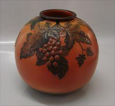 Ipsen Denmark 18x20 Vase - Round With Cranberry!