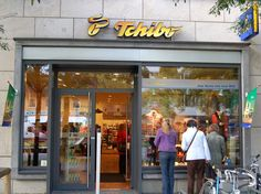 Tchibo, German coffee chain. In retail stores, they also sell great products for the home and clothing.