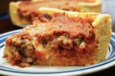 Chicago Style Deep Dish Pizza | Tara's Multicultural TableTara's recipe