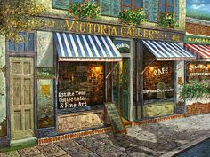 Victorian Coffee House - Storefront Idea