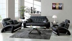 22 Best Black Living Room Furniture images | Black living rooms ...