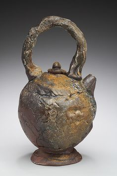 wood fired Teapot 2 by CrackedClay, via Flickr
