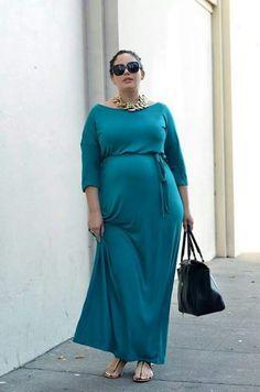 7dae313a3f Moda para embarazadas Plus Size Maternity Dresses