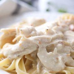 Chicken Fettuccine, Chicken Alfredo, Fettuccine Alfredo, Gourmet Recipes, Diet Recipes, Healthy Recipes, Booyah Recipe, Healthy Nutrition, Healthy Eating