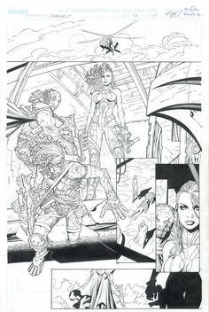 Darkness: Issue 83 - Page 19. Pencils: Michael Broussard Top Cow ©