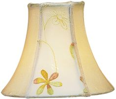 Buy the Livex Lighting Embroidered Floral Silk Bell Clip Shade Direct. Shop for the Livex Lighting Embroidered Floral Silk Bell Clip Shade Chandelier Shade with Embroidered Floral Silk Bell Clip Shade from Chandelier Shade Series and save. Pottery Barn Lamp Shades, Painting Lamp Shades, Ceiling Lamp Shades, Chandelier Shades, Mini Chandelier, Pleated Lamp Shades, Square Lamp Shades, Shabby Chic Lamp Shades, Rustic Lamp Shades