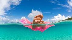 Drift away! - Avoya Travel Article: 'Best Fall & Winter Caribbean Cruises' #Floatie