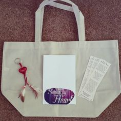 """37 Likes, 2 Comments - Carmela Martino, MG/YA author (@cmartinoauthor) on Instagram: """"Playing by Heart #cover #reveal #giveaway prize package has arrived! Includes a tote bag with the cover image on one side, a heart dreamcatcher key chain, and bookmarks."""""""