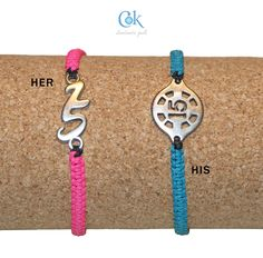 his & her lucky charms 15 bracelets (044)