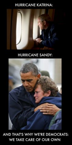 Bloomberg asked Obama not to go to NY, so he didn't. Similarily, Bush was asked not to go after Katrina - they didn't want to tie up emergency workers. So he honored their request, just as Obama did in NY. So stop the lies...