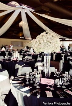 61 Best Black White Events Images Wedding Centerpieces Dream