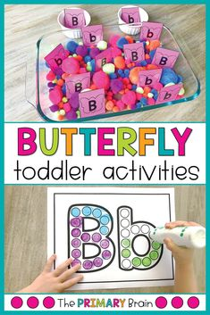 Spring is in the air, which means it is the perfect time to share our Toddler School Butterfly Unit with you all! We loved this unit because we were able to relate the butterfly activities to live butterflies that we saw outside. Letter B Activities, 3 Year Old Activities, Preschool Learning Activities, Preschool Activities, Educational Activities, Toddler School, Toddler Classroom, Lesson Plans For Toddlers, Preschool Lesson Plans