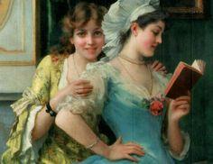 The Love Letter | Federico Andreotti ~ Italian Figurative painter