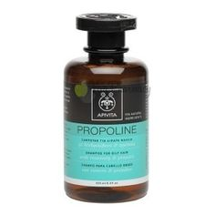 Apivita Propoline Shampoo for Oily Hair with Propolis and Rosemary / oz * You can find out more details at the link of the image. Sensitive Scalp, Greek Beauty, Best Shampoos, Oily Hair, Dental Care, Healthy Hair, Home Remedies, Peppermint, Hair Care