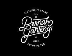 """Check out new work on my @Behance portfolio: """"Pernah Ganteng Logo"""" http://be.net/gallery/49973187/Pernah-Ganteng-Logo"""