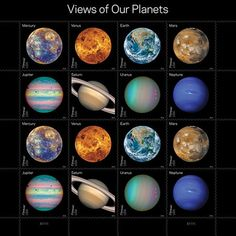 NASA and USPS team up to celebrate our solar system and the great New Horizon's flyby of Pluto with new 2016 Forever stamps. Photo: NASA And USPS Space Solar System, Our Solar System, Cosmos, Wedding Postage Stamps, Us Postal Service, Dwarf Planet, Earth Photos, Planetary Science, Space Exploration