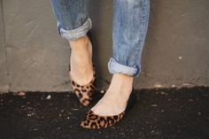 Tami Leopard Ballet Flast on Hallie Daily! @halliedaily