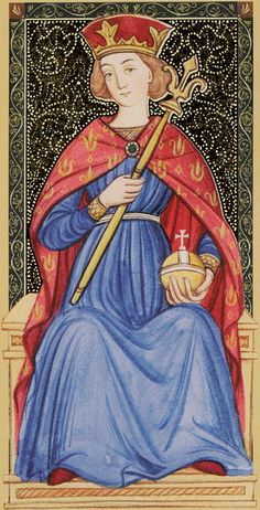 III - L'impératrice - Golden Tarot of Renaissance par Giordano Berti & Jo Dworkin