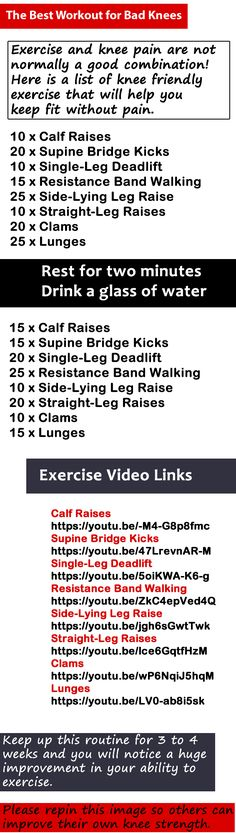 The Best Workout for Bad Knees http://www.amazon.com/Neoprene-Designed-Weightlifting-Training-Powerlifting/dp/B01AO53KP2 #kneesleeve #kneesleeves #workout #fitness