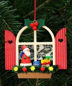 Christian Ulbricht Baumbehang Adventsfenster mit Niko