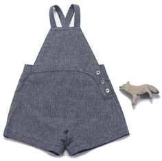 Image of hugo overalls-navy