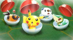 Cute Pokemon!! #nintendo #pokemon #WiiU #pikachu #eShop
