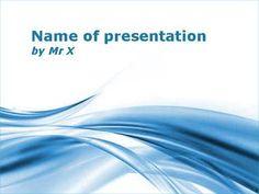 The Blue Twist Powerpoint Presentation Template