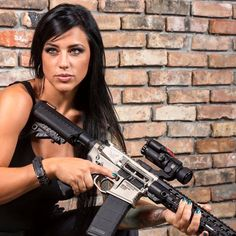 Pillage and Plunder — A little hump day motivation♨️ Girls Rules, N Girls, Army Girls, Weapons Guns, Guns And Ammo, Airsoft, Alex Zedra, Female Soldier, Warrior Girl